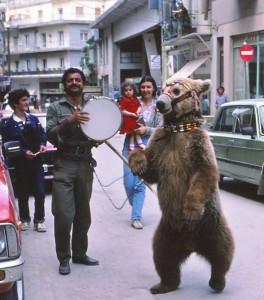 Αρκούδα χορεύει