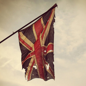 Σχισμένη βρετανική σημαία