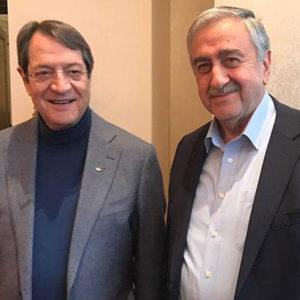 Αναστασιάδης και Ακιντζί μπροστά στην ιστορική ευθύνη να επανενώσουν την Κύπρο σε μία κοινή πατρίδα, όπως ήταν για αιώνες.