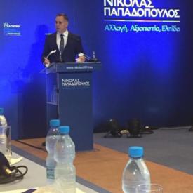 """Η """"Νέα Στρατηγική"""" για τη διχοτόμηση και το δημοψήφισμα του Ν. Παπαδόπουλου."""